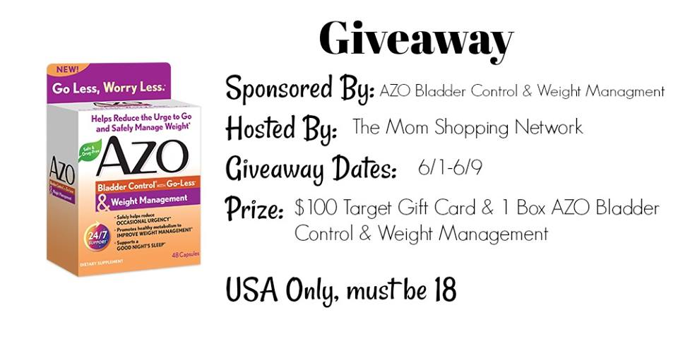 $100 Target Gift Card & 1 Box AZO Giveaway