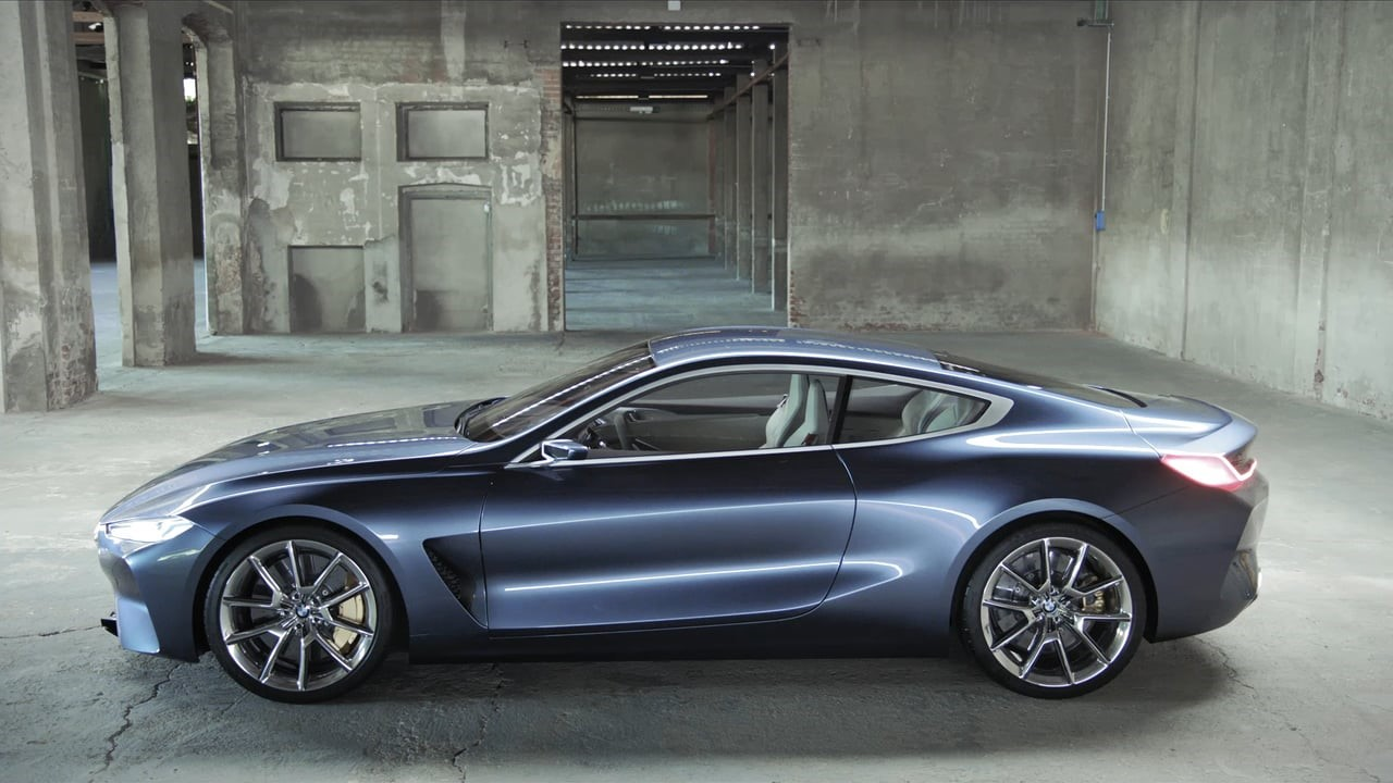 The BMW 8 Series: A Luxury Bullet.