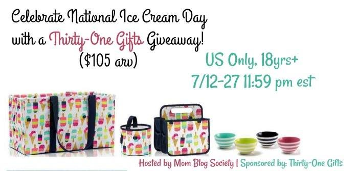 Welcome to the National Ice Cream Day Giveaway!