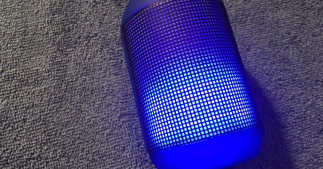 Jam To Your Favorite Tunes With VPULSE1 Light Up Speaker By Vivitar.