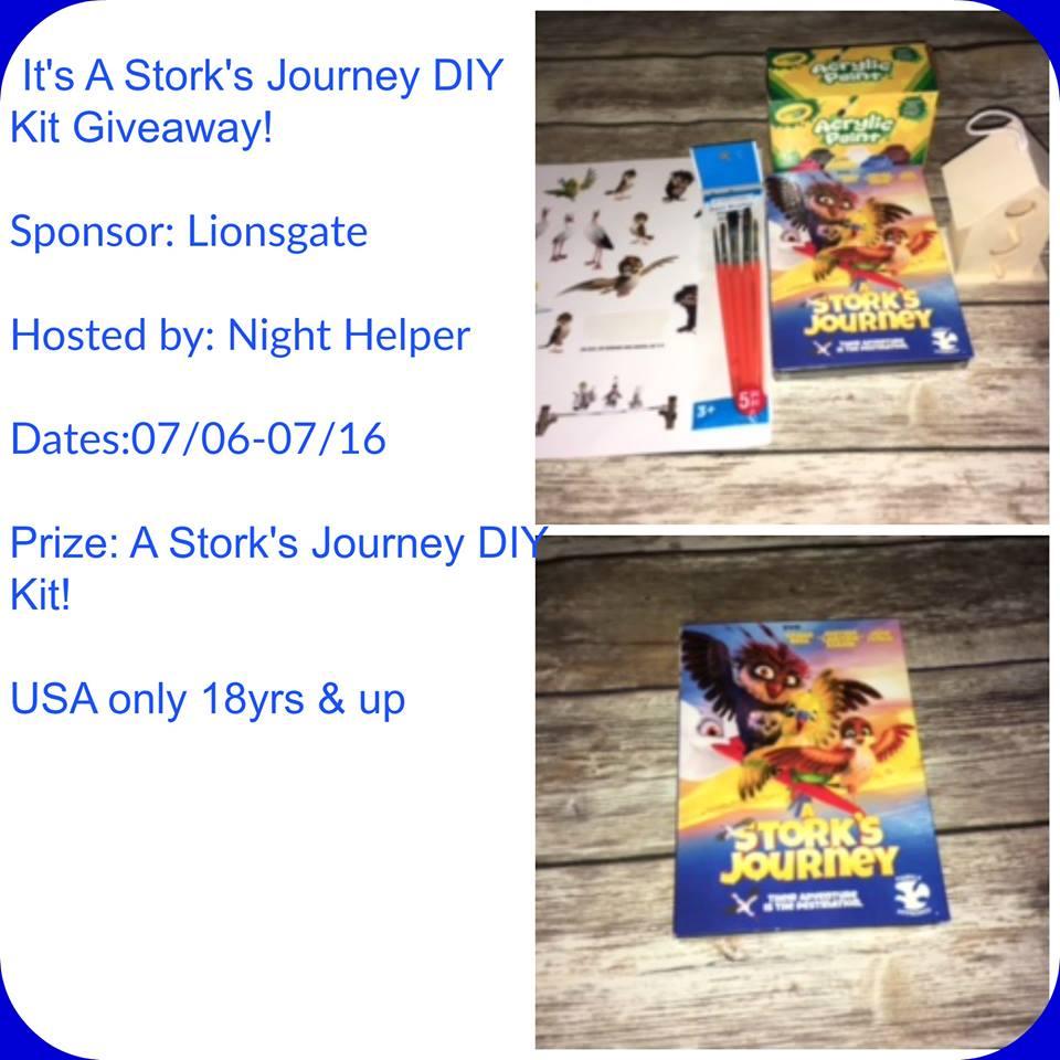 It's A Stork's Journey DIY Kit Giveaway