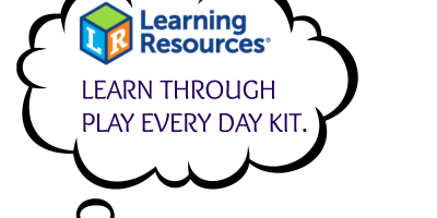 Learn Through Play With Learning Resources Every Day kit. @learninghandson