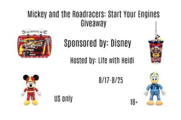 Mickey and the Roadster Racers: Start Your Engines Giveaway.