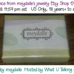 Winner's Choice: Meydalle's Etsy Shop Jewelry Giveaway