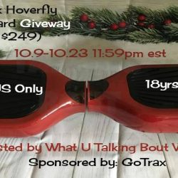 Welcome to the GoTrax Hoverfly Hoverboard Giveaway.