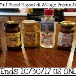 Giveaway, 6 Full Sized Rigoni di Asiago Products (RV $45)