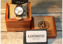 Jord Complimentary Hand-Crafted Wood Time Piece, just in time for the Holidays!