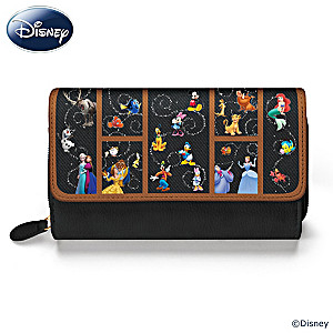 """2017 Holiday Gift Guide Featuring Carry The Magic"""" Disney Women's Wallet.@BradfordEx"""