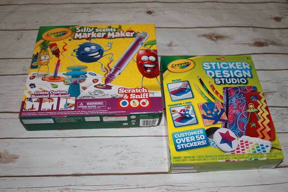 Crayola's Hottest Holiday Toys: Sticker Design Studio and
