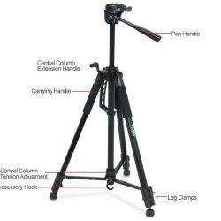 "Happy Holidays From Vivitar! Here's A Nice Gift For That Loved One Who Enjoy Photography: Vivitar VPT-3662 62"" Tripod!  @VivitarOfficial"