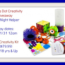 Enter To Win A Dot Creativity Kit, ends 1/31