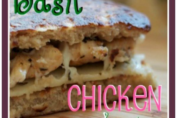 What's for Lunch? My Famous Basil Chicken Sandwich, mmm, mmm, good!