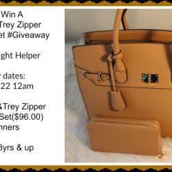 Enter To Win A @SophieandTrey Zipper Tote & Wallet Set   #Giveaway
