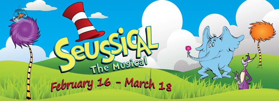 Seussical The Musical Coming To Riverbank Theatre , come one,  come all to see!!