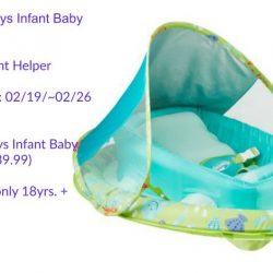 Win A SwimWays Infant Baby Spring Float @SwimWays