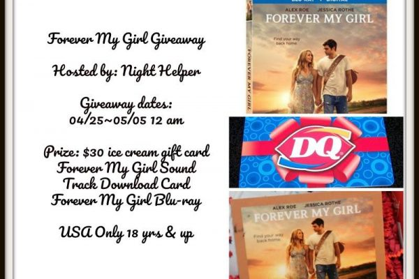 Forever My Girl Giveaway