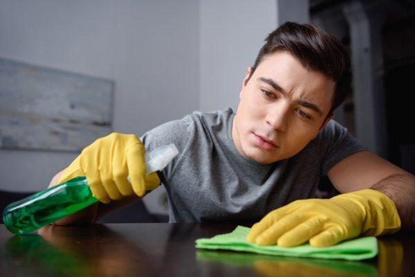 Minimum Effort Spring Cleaning Tips For Bachelors