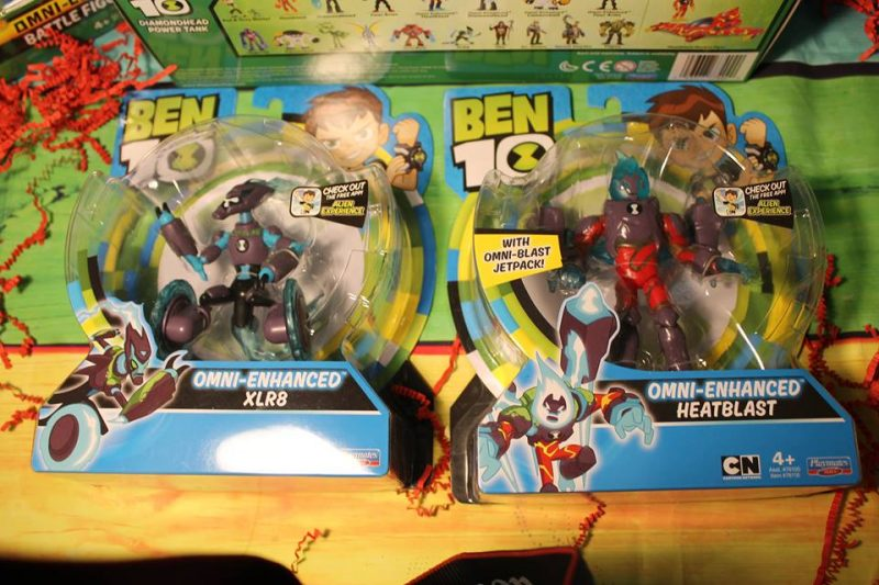 Check Out The New Ben 10 Spring Toys!      @PlaymateToys