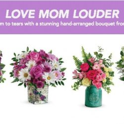 Teleflora Mother's Day Bouquet Collection #Teleflora #LoveOutLoud