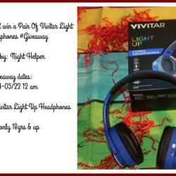 Win A Pair of Vivitar Light Up Headphones